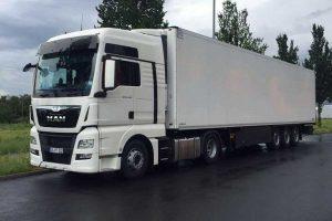 Sattelzug Medro Transport und Logistik